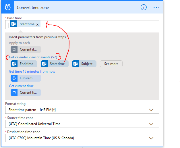 Microsoft (MS) Flow: Outlook Meeting or Appointment