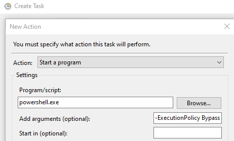 Deleting specific log files by extension older than X days using